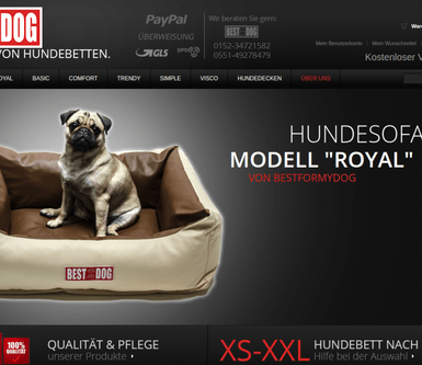 Ongoing support and eBay product confrigurations for Magento https://bestformydog.de online shop