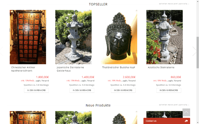 Asian Garden – Development and Maintenance for WordPress-Based Site