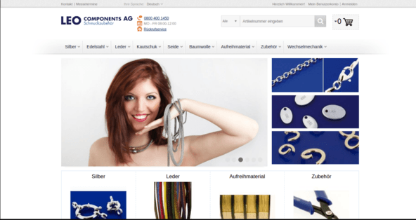 Leo Components AG – Ongoing Support for Magento EE Store