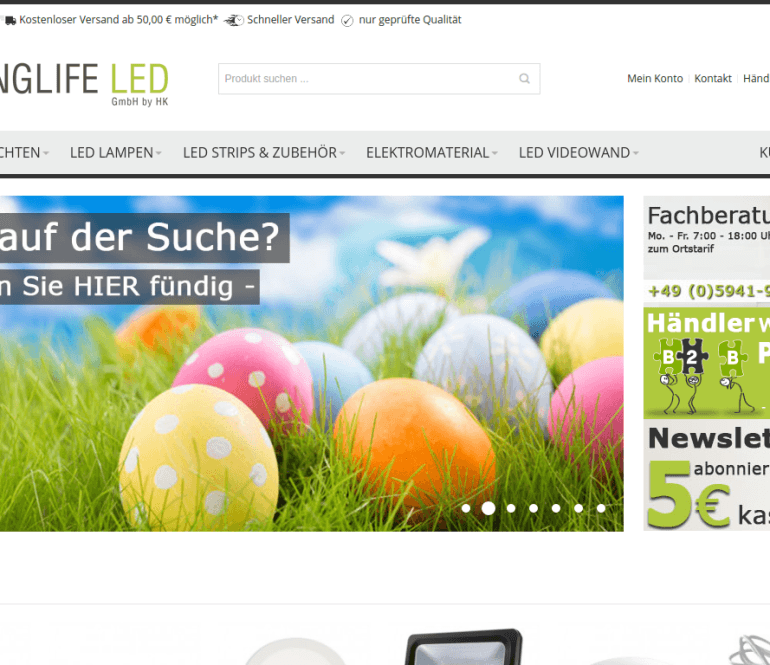 Webmeridian magento shop with ultimo template Germany Cologne Berlin Munich