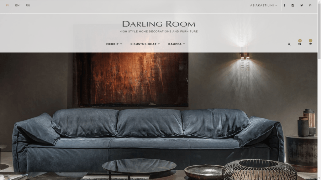 https://darlingroom.fi/ magento shop with deep customizations of frontend layouts