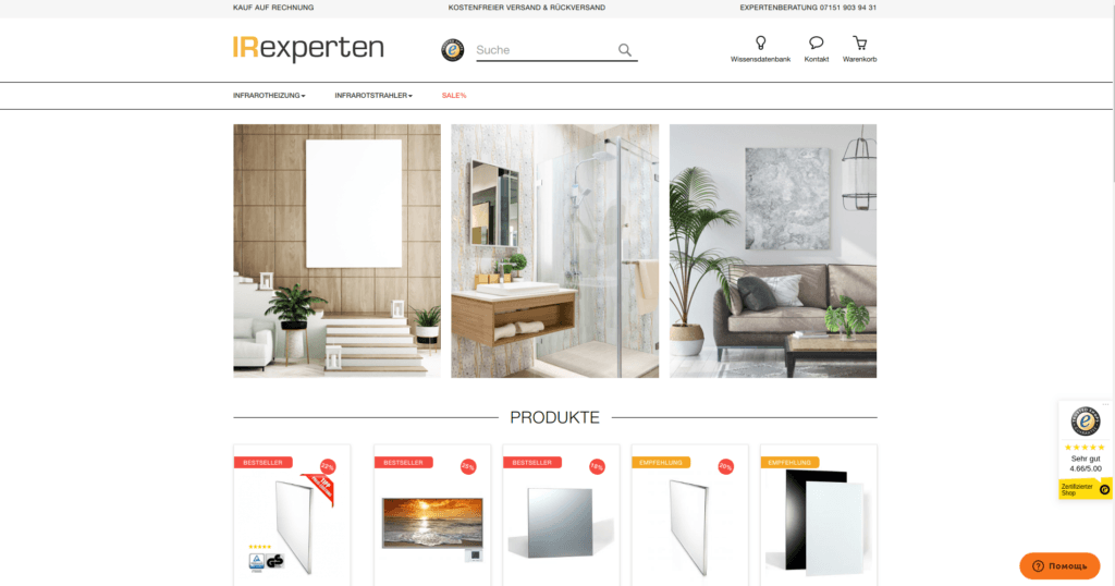 IR Experten – Migration from Magento 1 to Magento 2 with data import