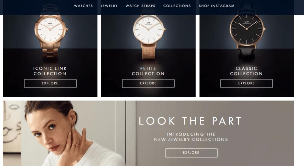 Daniel Wellington: Home Page Offers