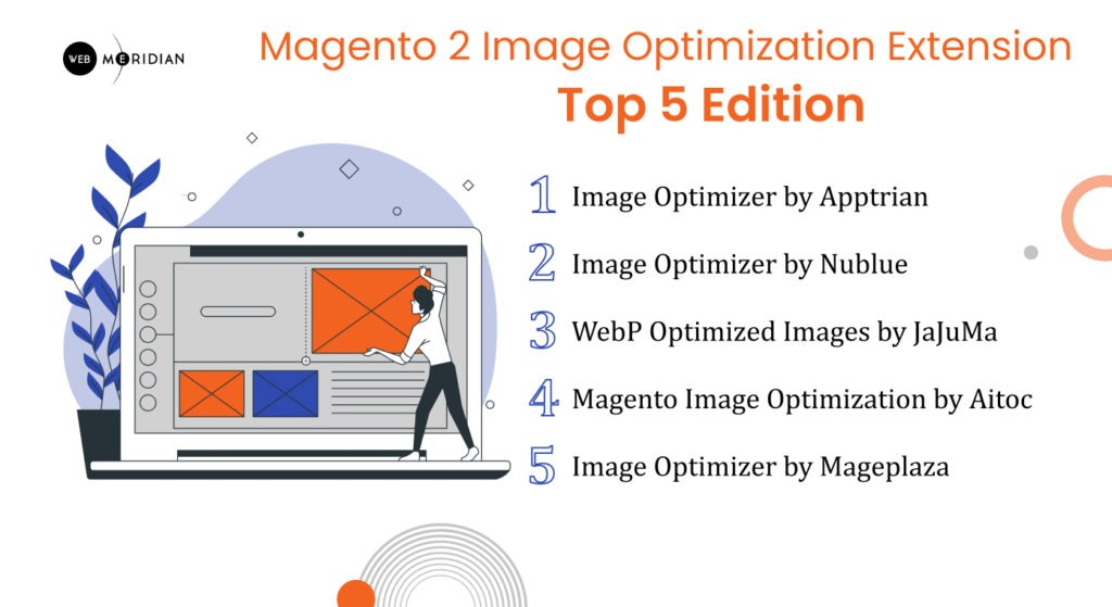 TOP 5 Magento 2 Image Optimization Extension: 2021 Edition. How to optimize the images of a magento 2 site?