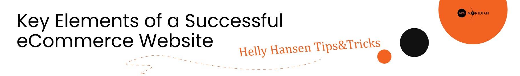 Bonus Material: Key Elements of a Successful eCommerce Website   Helly Hansen Tips&Tricks
