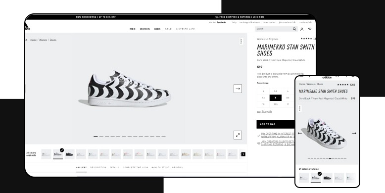 AI in eCommerce - Adidas
