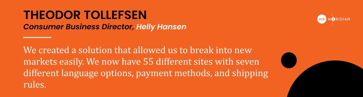 Helly Hansen - Boost Sales _ Success Story