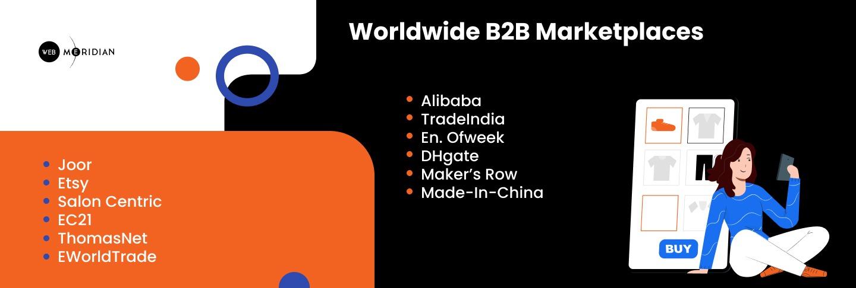 Worldwide B2B Marketplaces - B2B Marketplace Development
