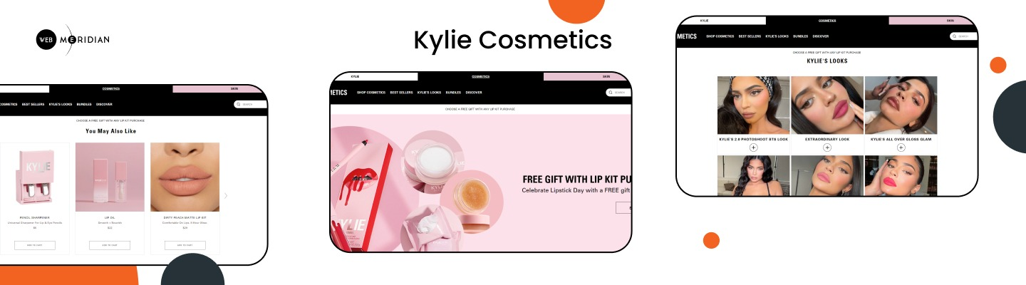 Kylie Cosmetics - Best Shopify stores
