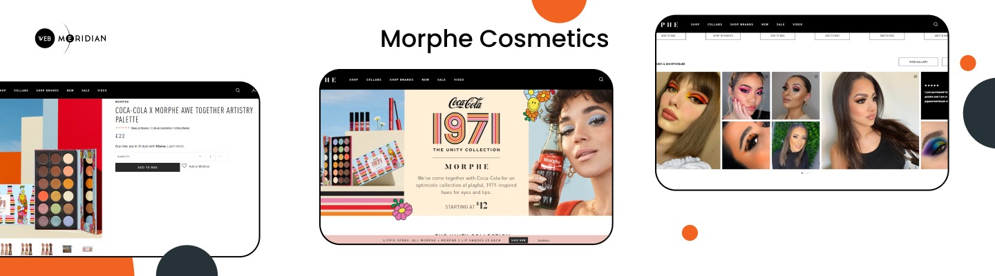 Morphe Cosmetics - Best Shopify stores