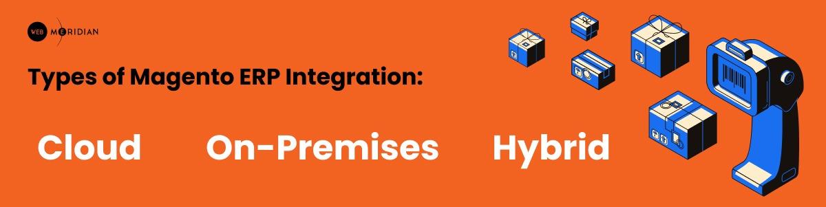 Types of Magento ERP Integration: