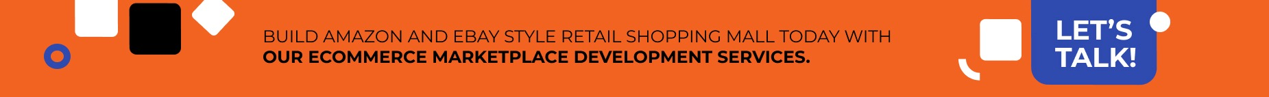 eCommerce marketplace development services.