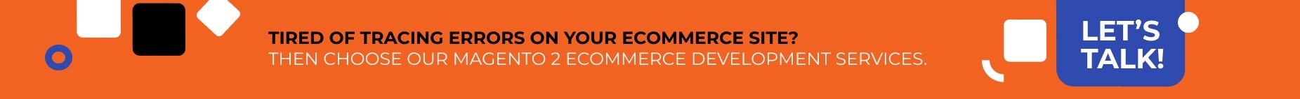 WebMeridian offers Magento 2 eCommerce website development services